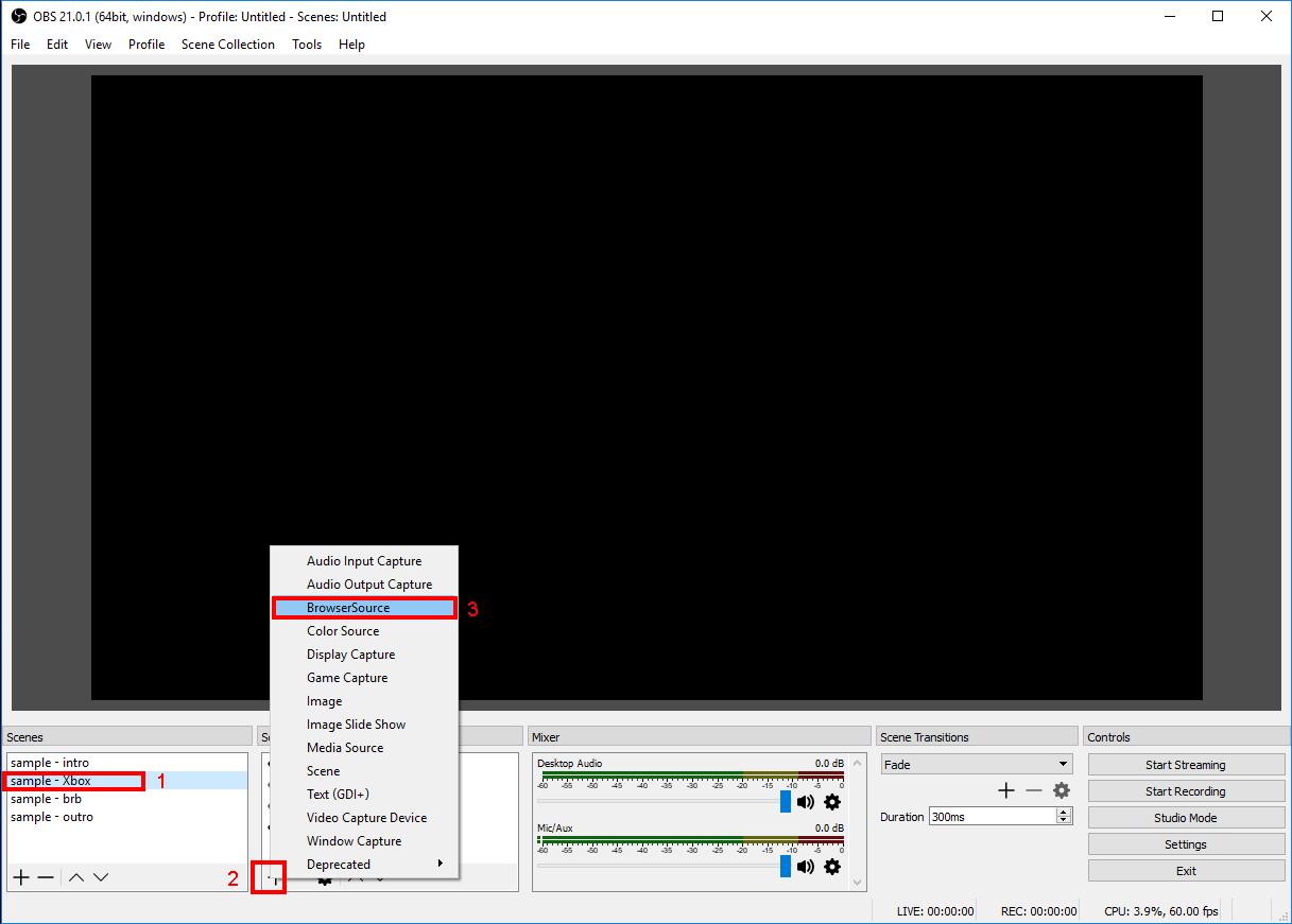 Adding Streamlabs Event List Overlay To Your Stream - Spammarino