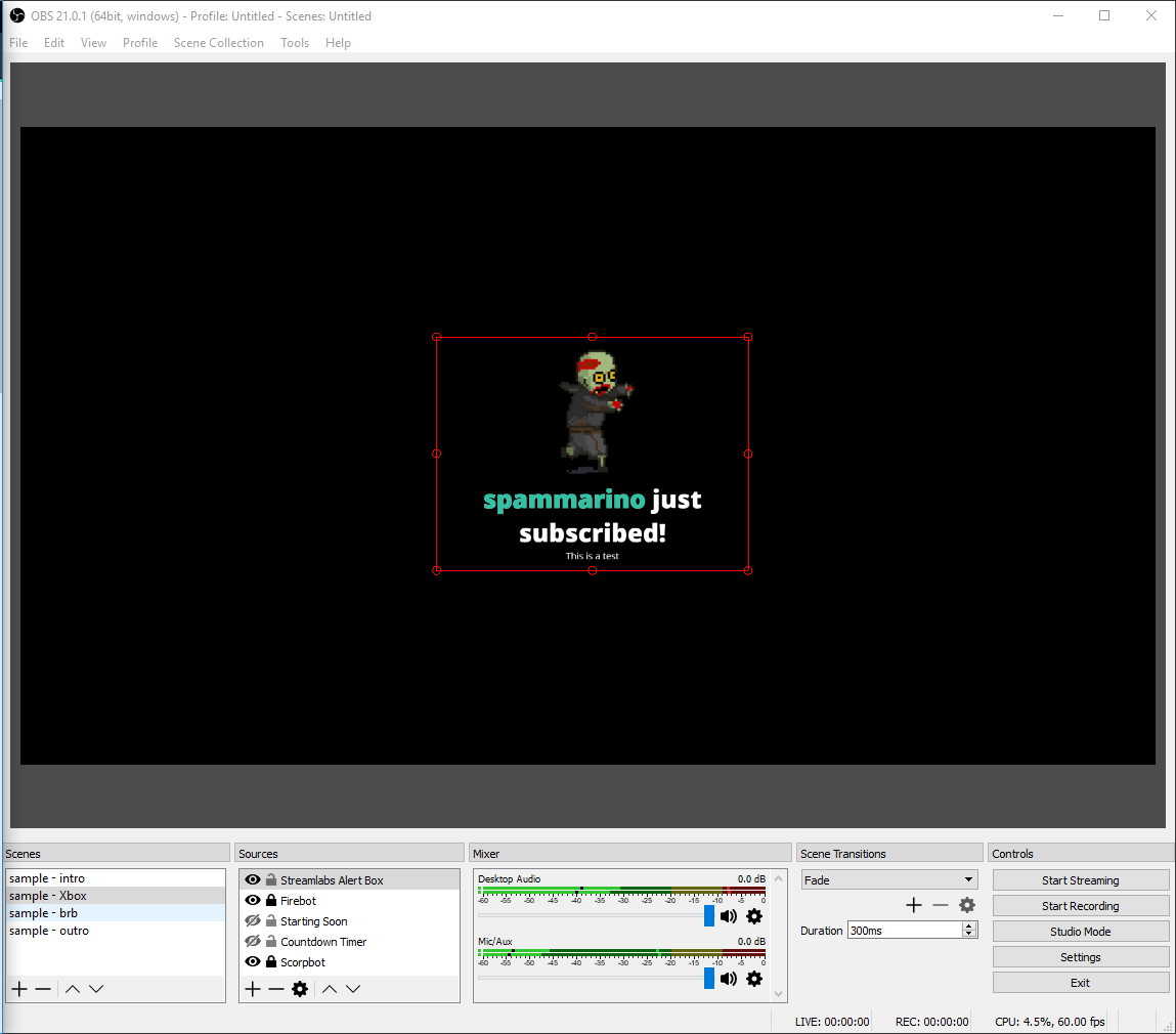Adding Streamlabs to OBS and creating Alerts - Spammarino